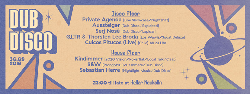 Dub-Disco-label-night #1